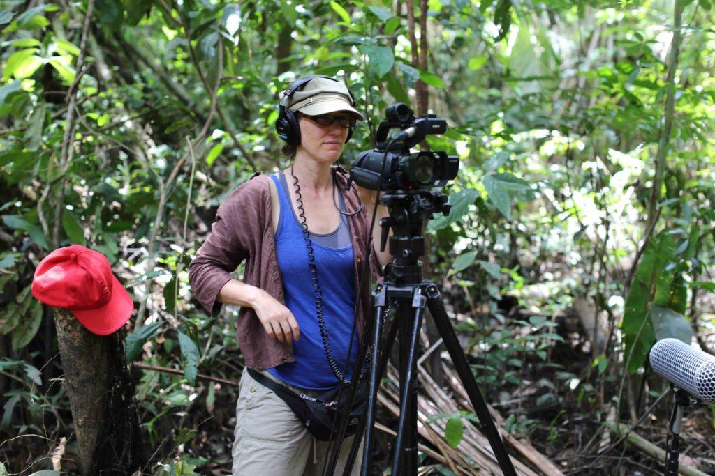 Stephanie Boyd filming